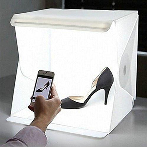 Caja-de-Luz-kit-Mini-Estudio-de-Fotografa-Plegable-Porttil-Kit-de-Caja-de-Luz-Tienda-de-Luz-LED-Porttil-226cmx23x24cm-Blanco-y-Negro