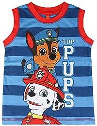 Camiseta Patrulla Canina Top Pups Tirantes (3)
