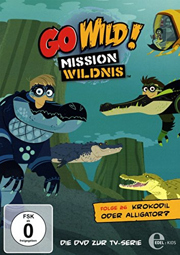 Go Wild! Mission Wildnis - Krokodil oder Alligator - Die DVD zur TV-Serie, Folge 26 Krokodil Alligator