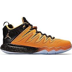 Nike Herren Jordan CP3.IX Basketballschuhe, Multicolore (Negro/Dorado/Naranja/Rojo (Blck/Mtllc Gld-LSR Orng-Infrrd), 44 EU