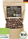 Edelmond Fair Trade Kakaobohnen rohe Bio Frischware. Von der kleinen Kakaofinca. Bio ohne Insektizide, eine Edel-Schokoladen Bohne.