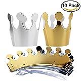 Bomboniere compleanno principessa carta cappello principessa Party per bambini, 10pz