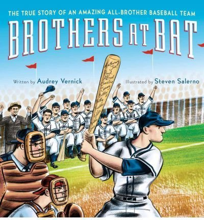Brothers at Bat: The True Story of an Amazing All-Brother Baseball Team (Hardback) - Common