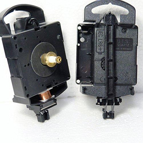 New Ersatz Quarz UTS Pendel euroshaft Uhr Bewegung (Schaft Länge 25mm) Minute Hand Fixing Nut Gold Open (Gold-pendel-uhr)