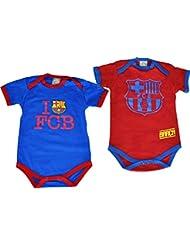 2 x body BARCA - Collection officielle FC BARCELONE - Taille bébé garçon
