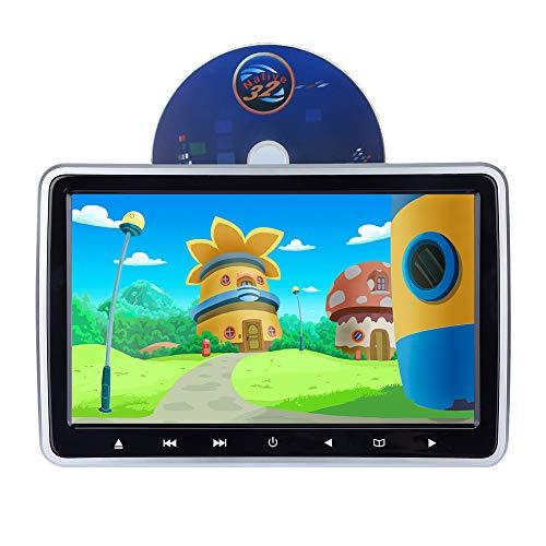 Alondy Auto DVD Player Kopfstütze Digital Monitor 10,1 Zoll HD Bildschirm LCD 1024 * 600 HDMI USB SD IR / FM Ultradünne - Dvd-player Auto, Sony