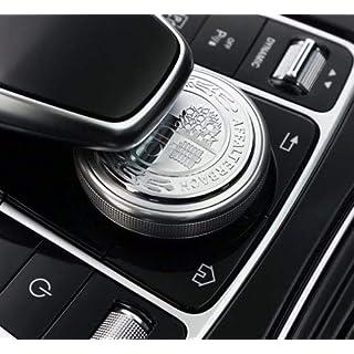 AMG Centre Console Adhesive Button A C E S CLA CLS A45 W212 205 49mm
