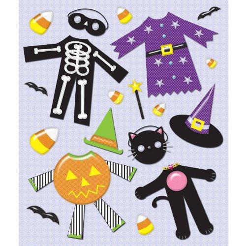 Unbekannt K&Company Medley Aufkleber für Halloween-Kostüme