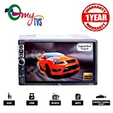 #8: myTVS TAV-40 Double Din HD Touch Screen Car Stereo Media Player with USB/MP5/MP3/Bluetooth (1 Year Warranty)