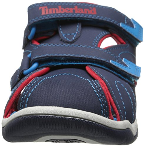 Timberland Active Casual Sandal Ftk_adventure Seeker Closed Toe Sandal, Sandales ouvertes mixte enfant Bleu - Bleu