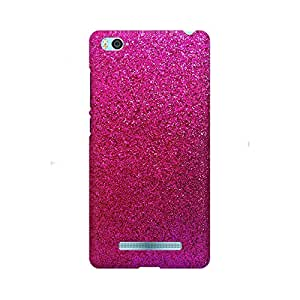 Mobicture Abstract Printed Glitter Designer Printed Hard Case Cover - [Hard Poly Carbonate] [Slim-fit] [Shock-Proof] Back Cover for Xiaomi Mi 4i