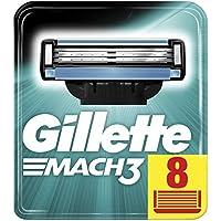 Gillette Mach3 Rasierklingen Für Männer, 1er Pack (1 x 8Stück)