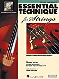 Essential Technique for Strings (Essential Elements Book 3): Double Bass