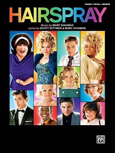 Hairspray, Piano/Vocal/Chords: Soundtrack to the Motion Picture