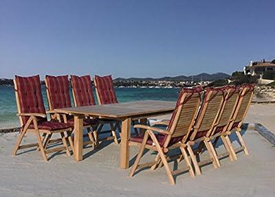 Grasekamp Teak Sessel verstellbar Gartenstühle Klappstuhl Teak Holz Gartenmöbel von Grasekamp - Gartenmöbel von Du und Dein Garten