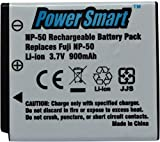 #7: Power Smart Battery - 3.7V Li ion Rechargable Pack For FJI NP50 (White)