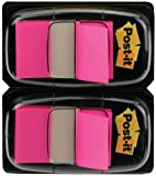 Post-it Index Flags - Dual Pack 25mm - Pink (50 Flags x 2),680-BP2EU