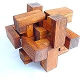 Logica Giochi art. TRAMPA - nivel de dificultad INCREIBLEMENTE DIFÍCIL 5/5 - Rompecabezas de madera
