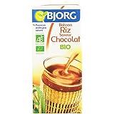 Bjorg Boisson Riz Chocolat 1 L - Lot de 6
