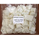 Modern Homes Vegetable (Soy) Wax Flakes for Candle Making - 500 grams - (High Grade - Creamy in nature)