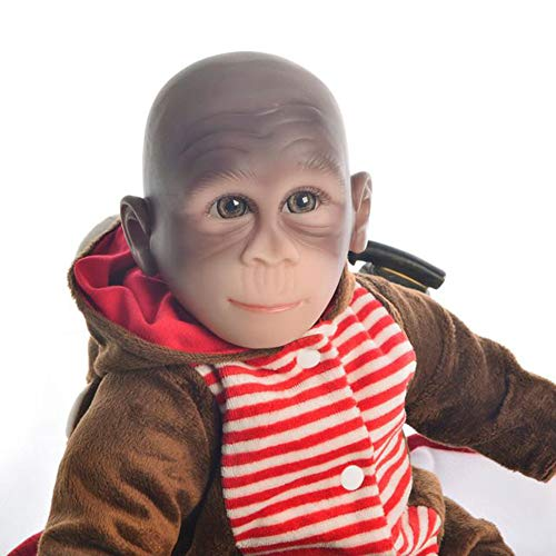 echte wiedergeborene Baby-Puppen-Jungen-weiche Silikon-Vinylneugeborene Kleinkind-Puppen-Kindergeschenke ()