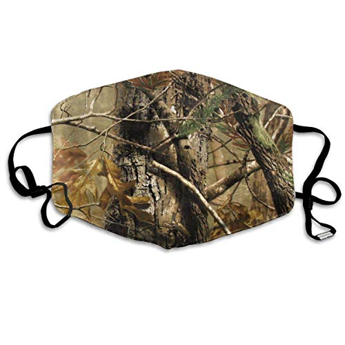 Masken für Erwachsene Face Masks Anti-Dust Mouth Cover Awesome Realtree Camouflage Camo Washable And Reusable Mask Warm Windproof For Women Men Boys Girls Kids -