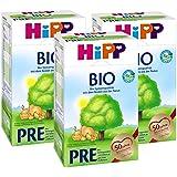 Hipp Bio Pre Anfangsmilch - von Geburt an, 3er Pack (3 x 600g)