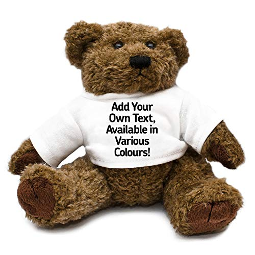 67b888d12d42 Personalised Add Your Own Text Teddy Bear unique gift idea kids thank you  present