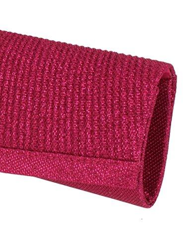 Boutique-Magique , Damen Clutch Pink - Fuchsia