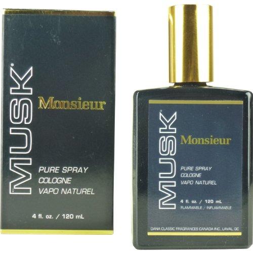 Monsieur Musk di Dana Da Uomo. Cologne Splash 2.0oz/60ml