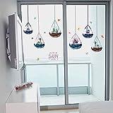 HhGold Kreative Hyun aus WC Badezimmer Tür Fenster Glas Aufkleber Balkon Schiebetür Verkleidung der Wand Wand postersThatThe Wassertropfen aus der Glaskugel
