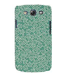 Floral Design 3D Hard Polycarbonate Designer Back Case Cover for Samsung Galaxy S3 Neo :: Samsung Galaxy S3 Neo i9300i