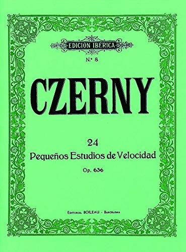 24 Pequeños estudios de velocidad, op. 636: Edición completa por Carl Czerny