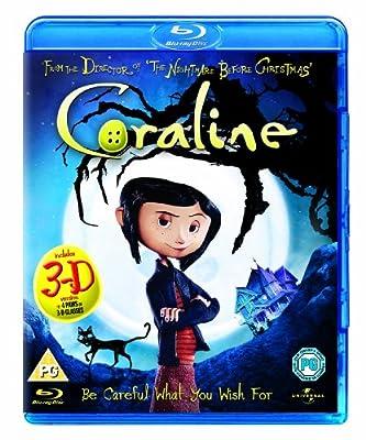 Coraline (2D + 3D Version) [Blu-ray] [UK Import]