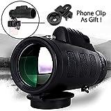 Best Monoculars - CEUTA®,Panda Camera Lens Monocular Telescope- Mobile Lens 40x60 Review