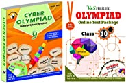 Olympiad Class 9 Online Practice Tests + Computers Book For NCO (Set Of 2 Books)