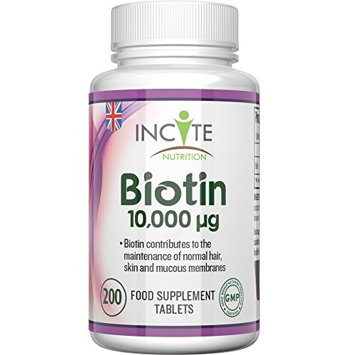 Vitaminas para el Crecimiento del Cabello con Biotina 10,000MCG para 6...