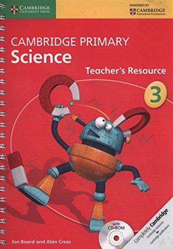 Cambridge Primary Science. Teacher's Resource Book Stage 3. Con CD-ROM