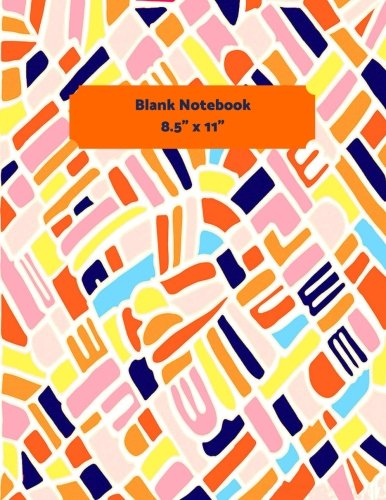 ebook: Multicolored Cover For Notes and Journal Entries. Free Layout Book To Write in, Men, Women, Boys & Girls / Classroom, Home ... Paper size (Blank Notebooks, Band 59) ()