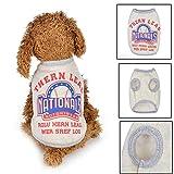 Haustier Hund Hoodie OHQ Winter Niedlichen Hund Haustier Weste Welpen gedruckt Baumwolle T-Shirt hundegeschirr Brief Drucken Hunde Kleidung