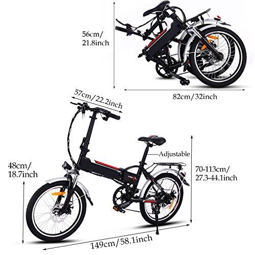 zeela E Bike Klapprad Faltrad 20 Zoll Elektrofahrrad Mo… | 00745272368990