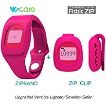 WoCase ZipBand Fitbit Zip Accessory Wristband Bracelet Collection (2016 Lastest Version, Secured, Lost Proof) for Fitbit Zip Activity and Sleep Tracker (Turn Your Fitbit Zip into Wearable FLEX/FORCE/CHARGE, Gift Ready Retail Package)