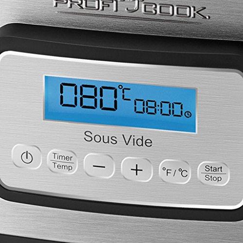ProfiCook Sous Vide–Schongarer Topf – Vakuum Kochen bei niedrigen Temperaturen - 2