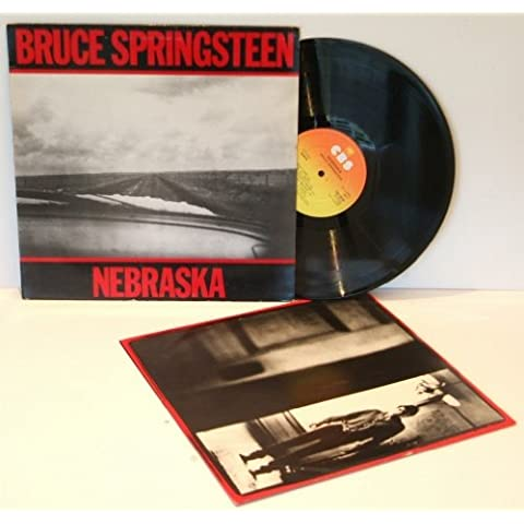 BRUCE SPRINGSTEEN Nebraska. First UK pressing 1982