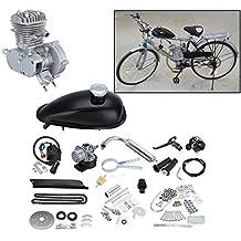 Ambienceo Motor Bicicleta Conversión Kit para Bicicleta Motorizada (80cc ...