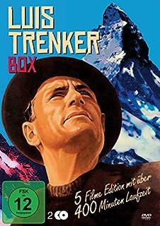 Die Luis Trenker Box : Der Sohn der weissen Berge - Liebesgrüsse aus dem Engadin - Der verlorene Sohn - Flucht in die Dolomiten