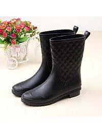 Caoutchouc extérieure Mme bottes de pluie