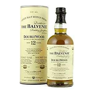Personalised Balvenie 12 Year Old Double Wood 70cl by Balvenie