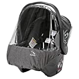 Peg Perego Primo Viaggio Rain Cover, Clear with Light Grey by Peg Perego