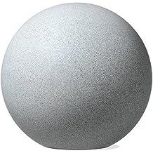 Scheurich 54329 200/30 Décor Plastic Decoration Globo Sfera granito bianco 27 x 27 x 25 cm